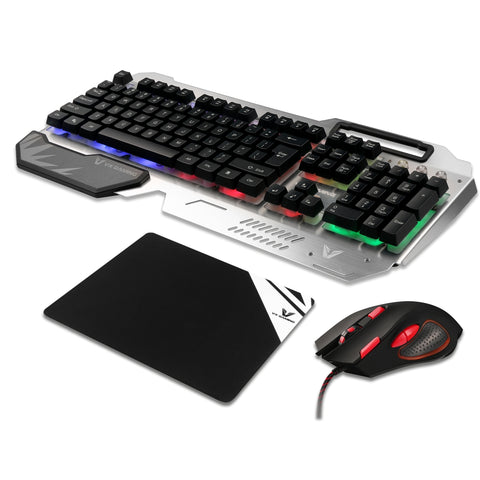 VX Gaming Combat Series Keyboard, Mouse & Mouse-Pad Combo - volkanoshop
