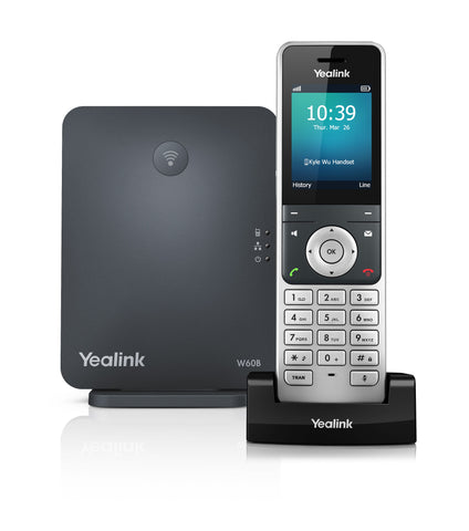 Yealink W60P IP DECT Handset(Including base) - volkanoshop