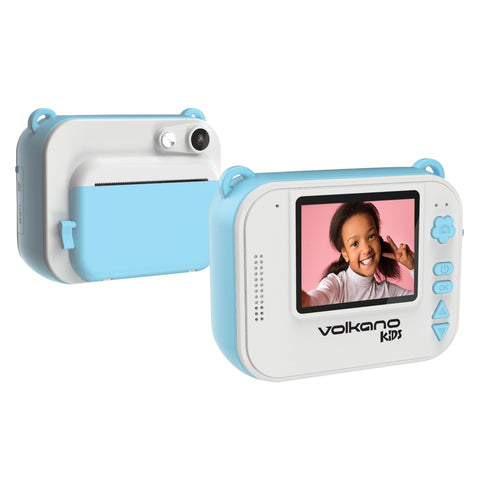 Volkano Kids Pronto series Instant Digital Camera - Blue - volkanoshop