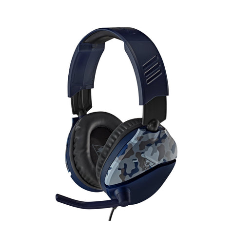 Turtle Beach Recon 70 Blue Camo Headset for Playstation - volkanoshop