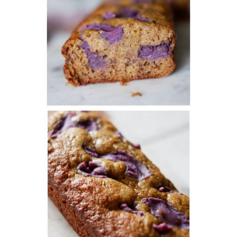 Banana Bread + Ube