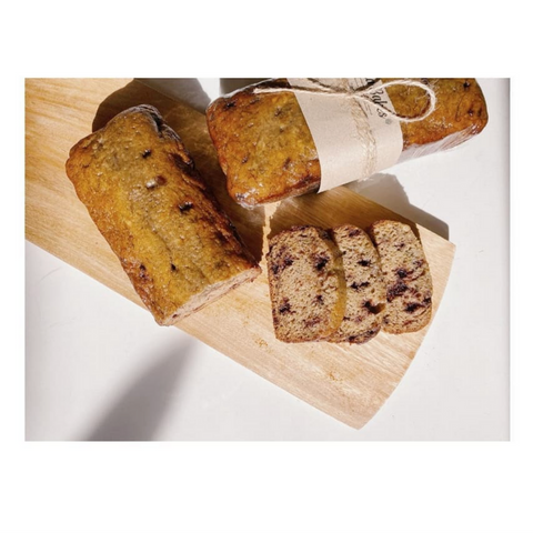 Banana Bread + Choco Chips