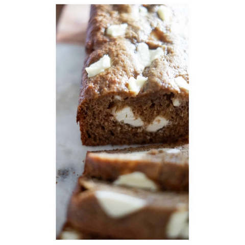Banana Bread + Cream Cheese
