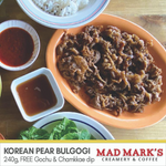 Beef Korean Pear Bulgogi