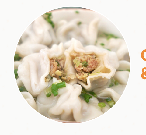 Pork & Cabbage Dumplings