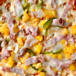 Hawaiian Thin Crust Pizza
