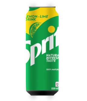 Sprite in can