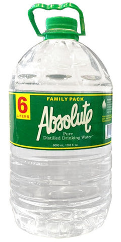 Distilled Water 6L