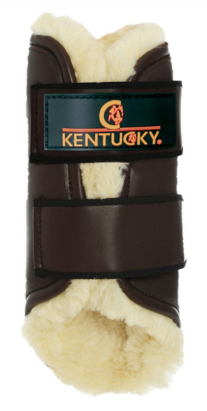 Kentucky Leather Exercise Boots - Back