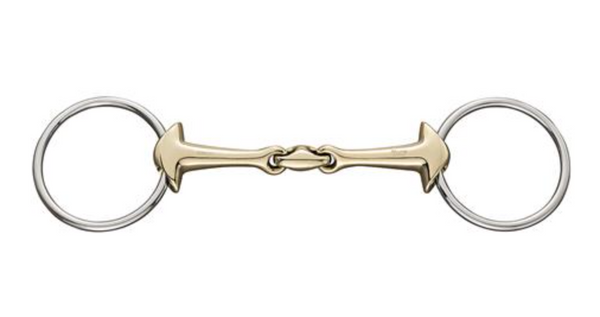 Herm Sprenger KK Ultra 2-Type Double Jointed Sensogan Snaffle - 16mm