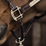 Kentucky Leather Rope Halter