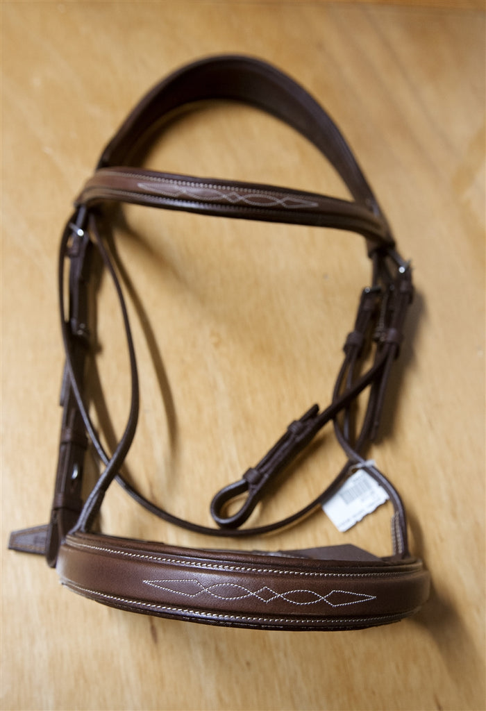Antares Hunter Bridle Fancy Stitched