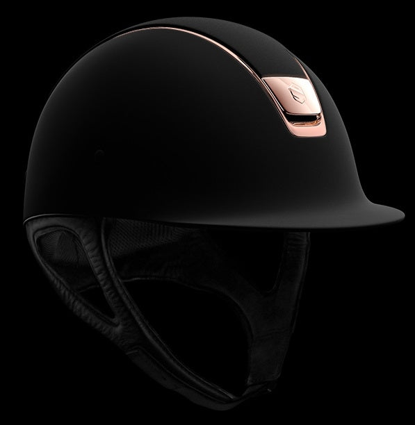 Samshield Shadow Matt Helmet - Rose Gold