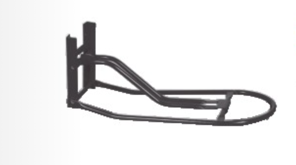 Mounted Folding Saddle Bracket