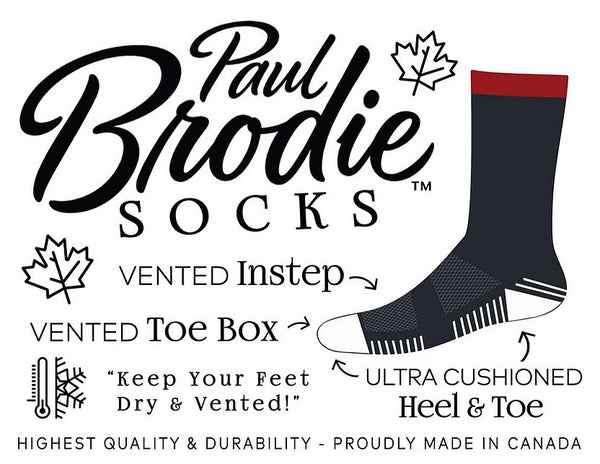 Paul Brodie Merino Wool Socks