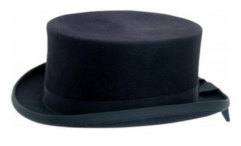 Horka Navy Felt Top Hat