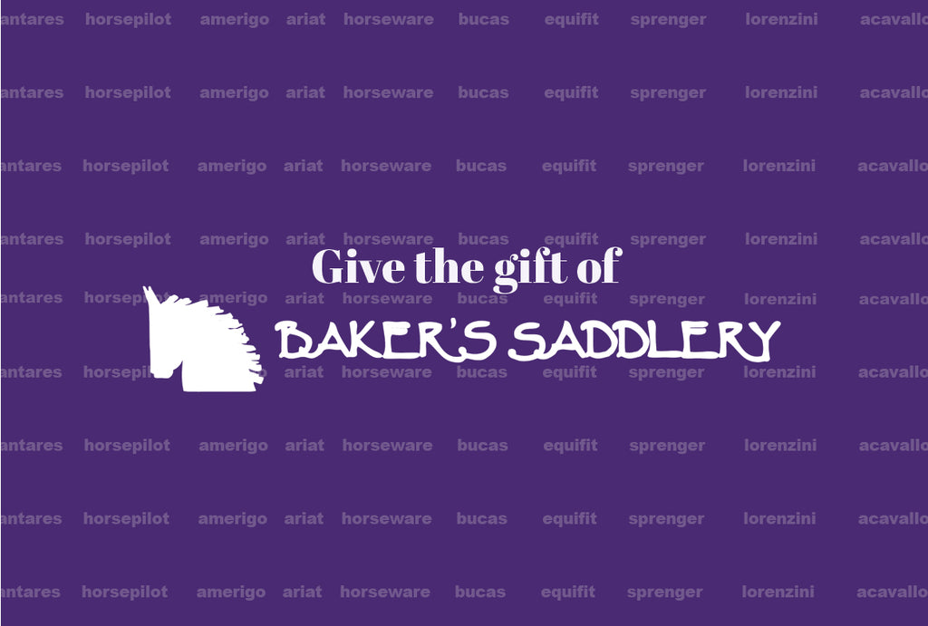 Baker's Saddlery Gift Card