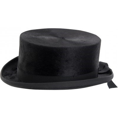 Horka Black Silk Top Hat