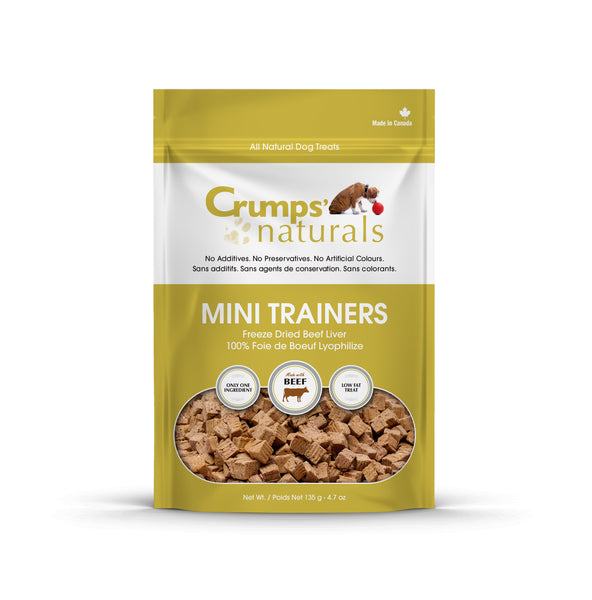 Crumps MiniTrainers Freeze Dried Beef Liver