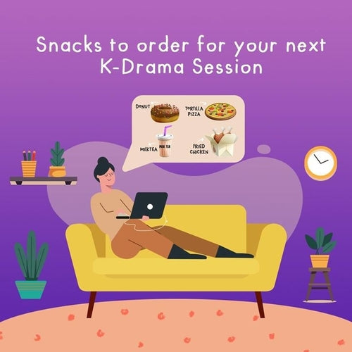 Snacks to order for your next K-Drama Session