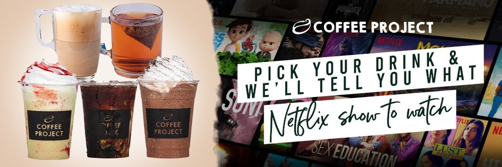 Pick Your Drink and We'll Tell You What to Netflix Shows to Watch