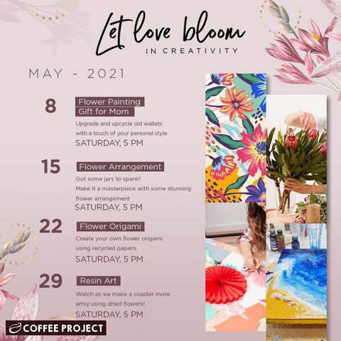 Coffee Project's Let Love Bloom Campaign for May