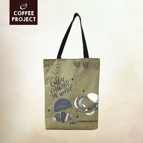 Coffee Project Tote Bag