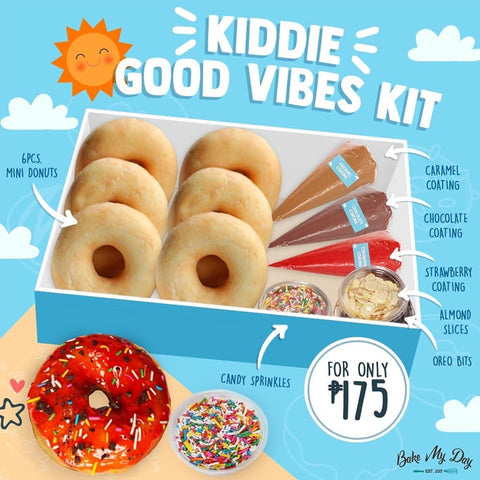 Kiddie Good Vibes Kit - Bake My Day