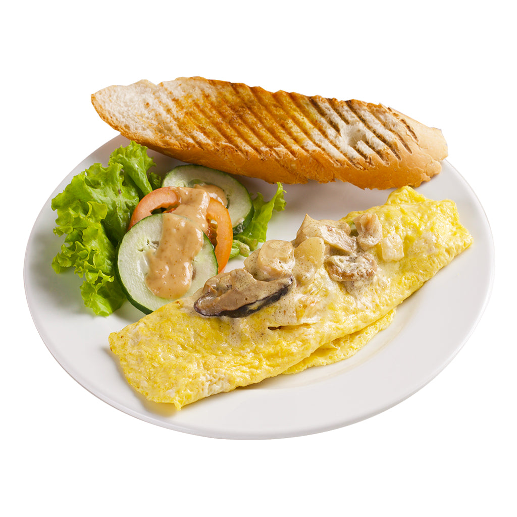 Mushroom Omelette-Coffee Project