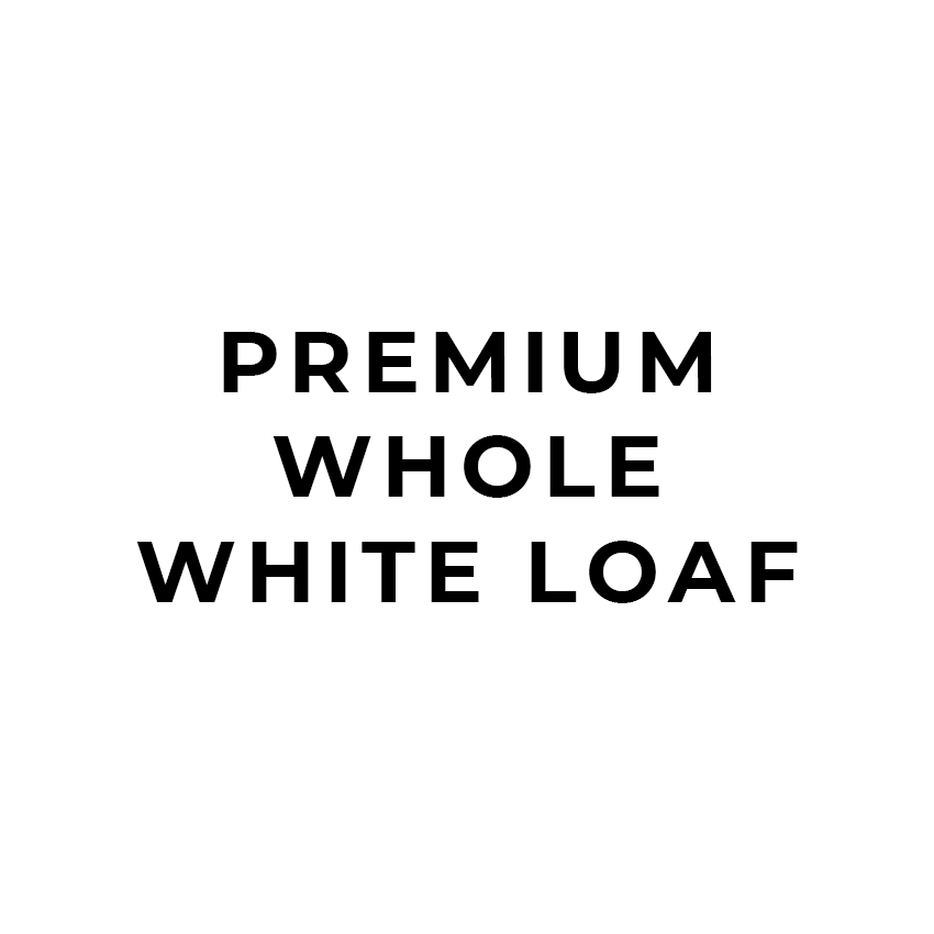 Premium Whole White Loaf-Bake My Day