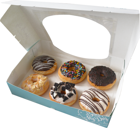 Assorted Donuts (Box of 6) - All Day