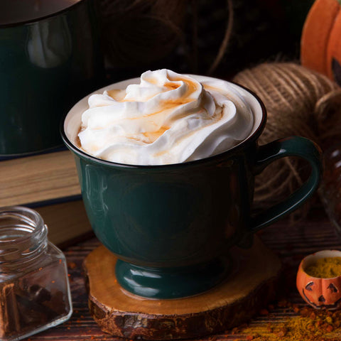 Hot Spiced Chai Maple Latte