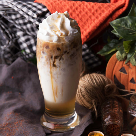 Iced Spiced Chai Maple Latte