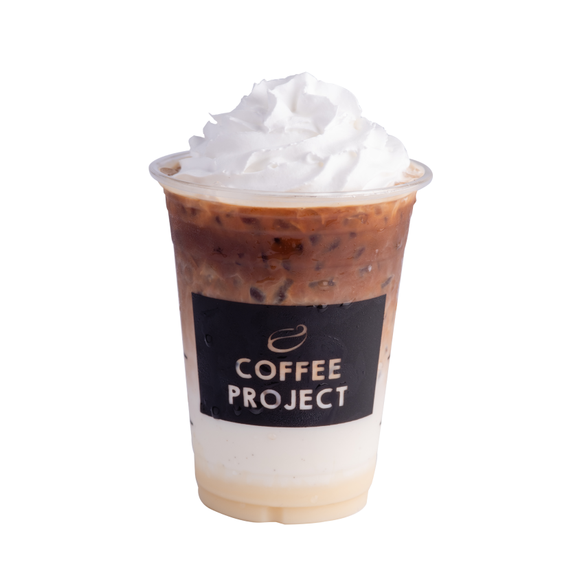 Iced White Mocha-Coffee Project