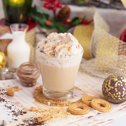 Hot Cinnamon Shortbread Cookie Latte