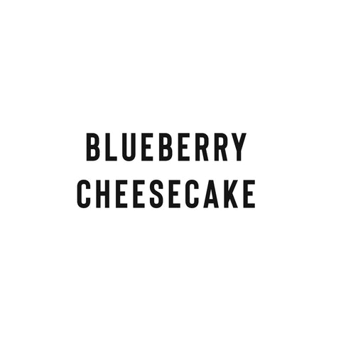 Blueberry Cheesecake (Sliced) -Coffee Project