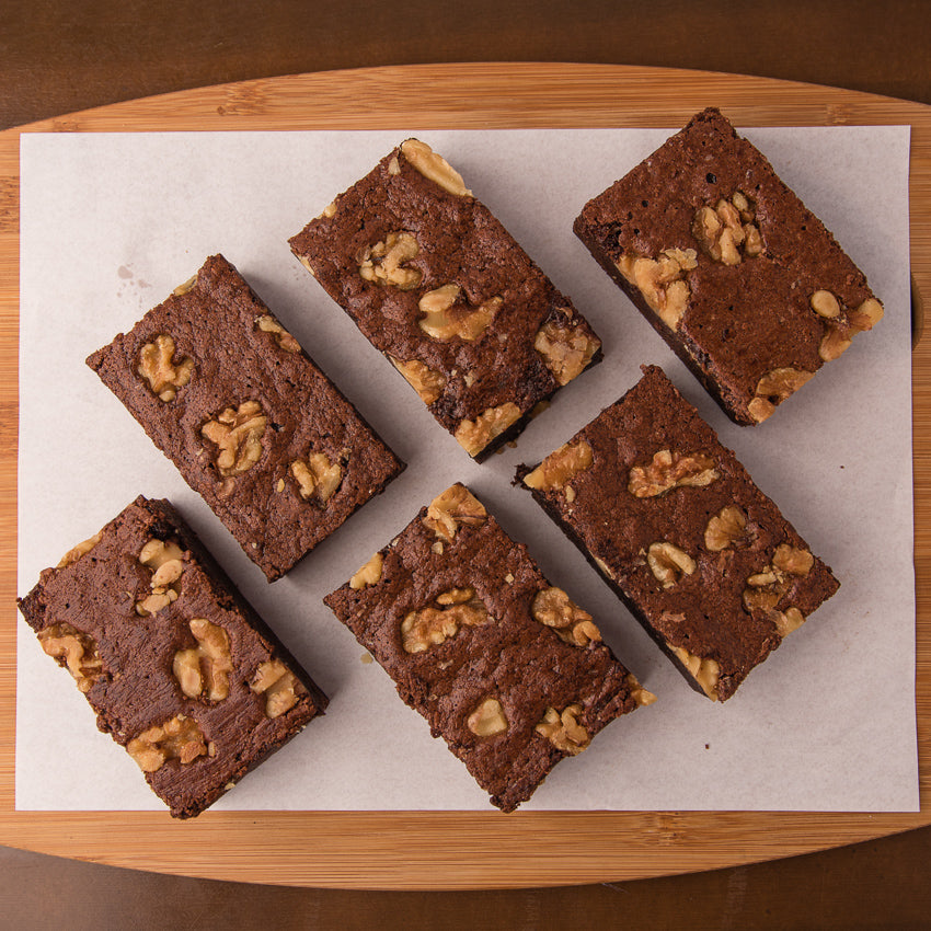 Walnut Brownies-Bake My Day