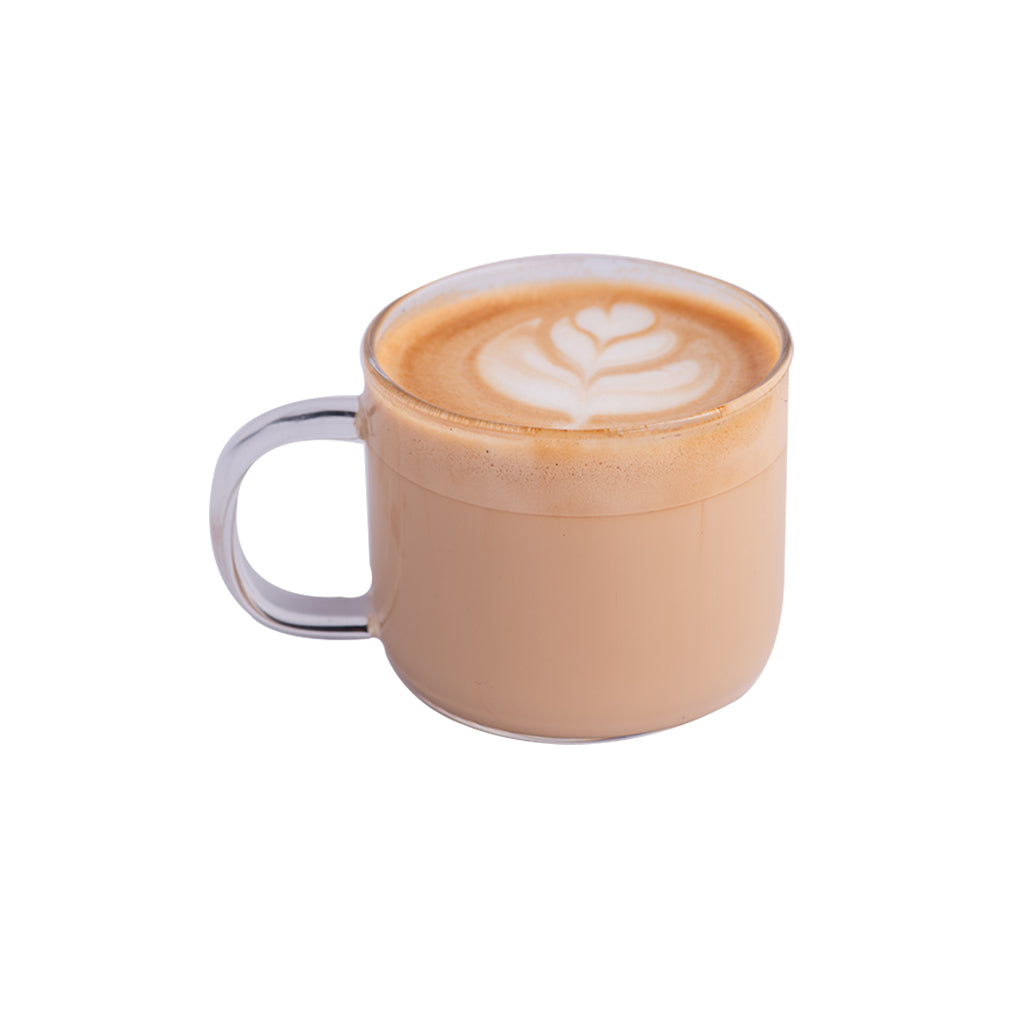 Hot Cafe Latte-Coffee Project