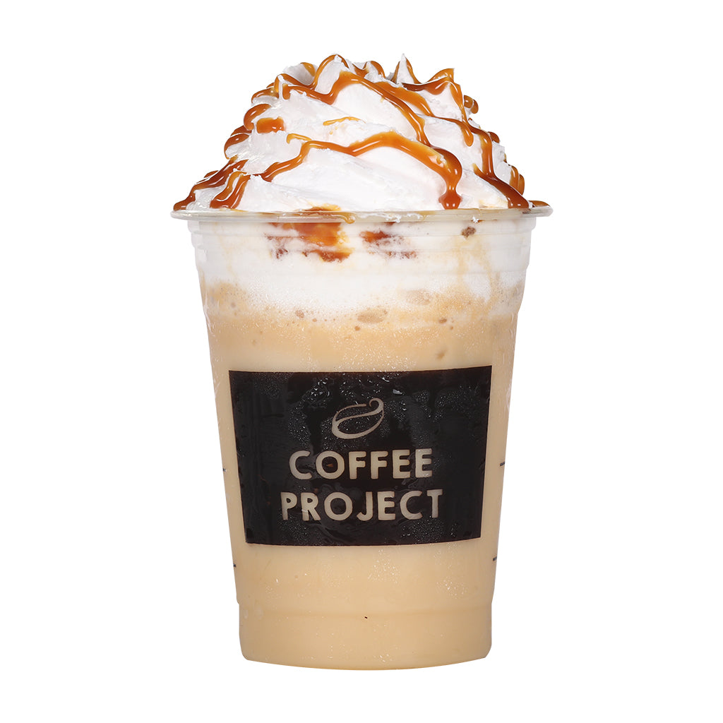 Caramel Vanilla Frappe-Coffee Project