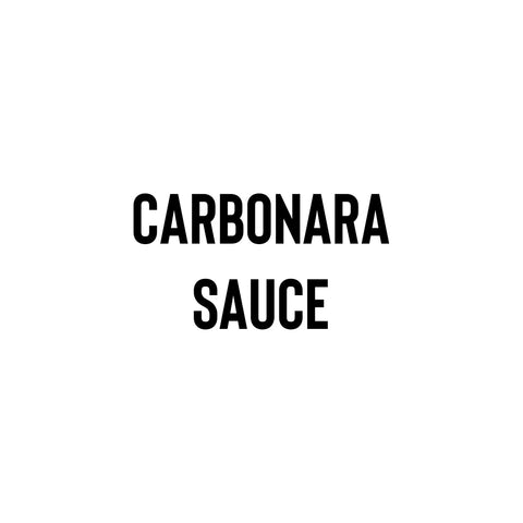 Carbonara Sauce (Frozen) - Coffee Project