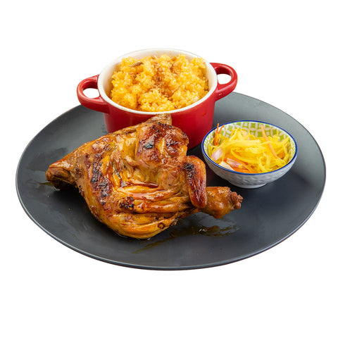Paa Inasal with Rice and Atchara-Chicken Deli