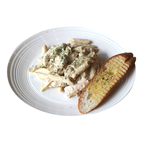 Chicken Alfredo Penne-Coffee Project