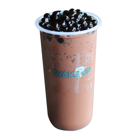 Dark Chocolate Milk Tea - Wake Up Café