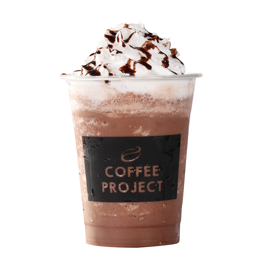 Dark Chocolate Frappe-Coffee Project