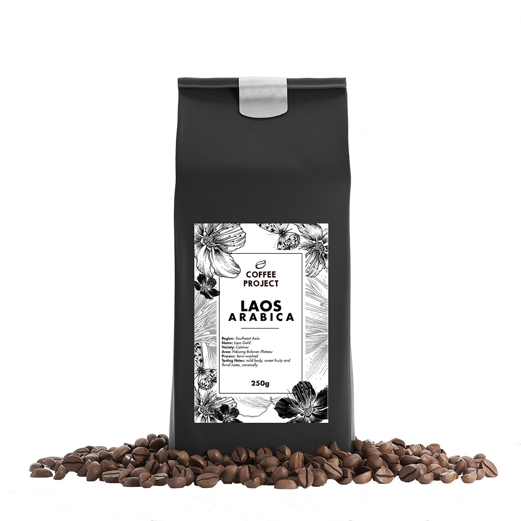 Laos Arabica Beans-Coffee Project