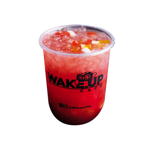Lemonade Dream with Fruit Jelly - Wake Up Café