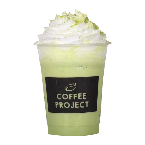 Matcha Green Tea Frappe-Coffee Project