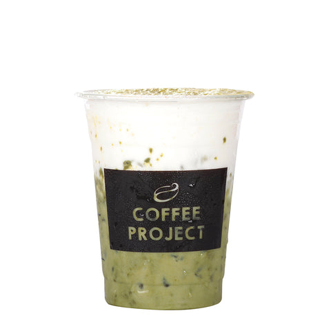 Iced Matcha Green Latte-Coffee Project