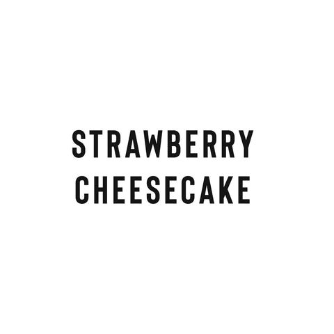 Strawberry Cheesecake (Sliced) -Coffee Project