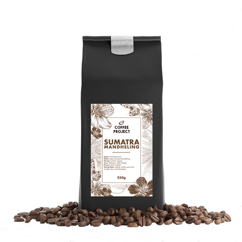 Sumatra Mandheling Beans-Coffee Project